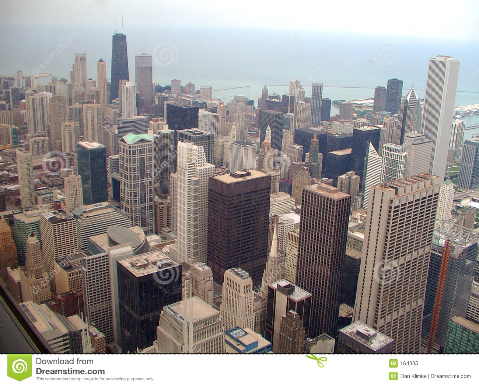 Horizon de ville de Chicago