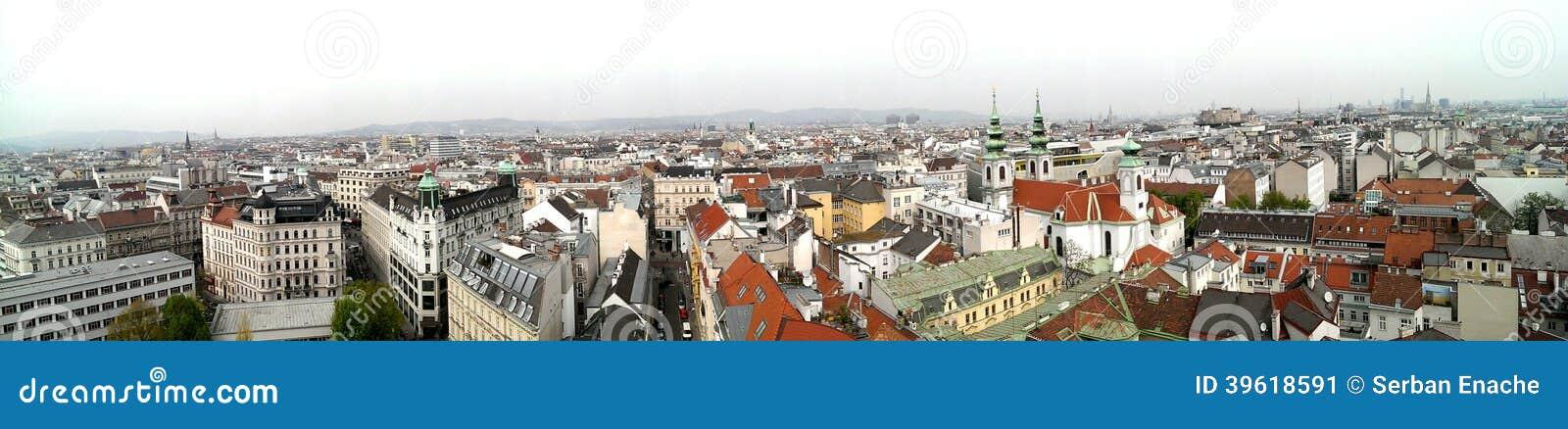 Horizon de ville de Vienne