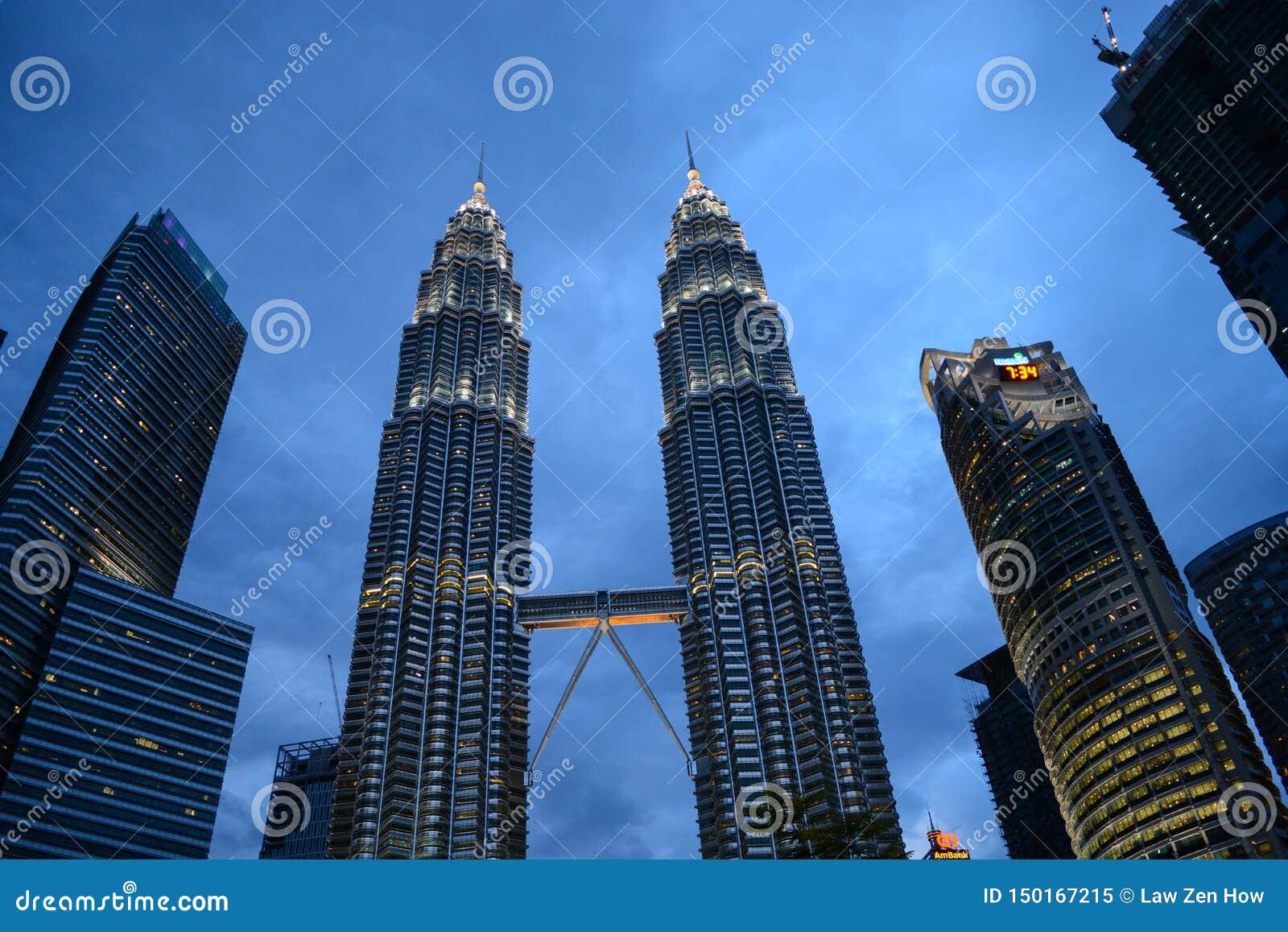 Horizon de ville de Kuala Lumpur, Malaisie