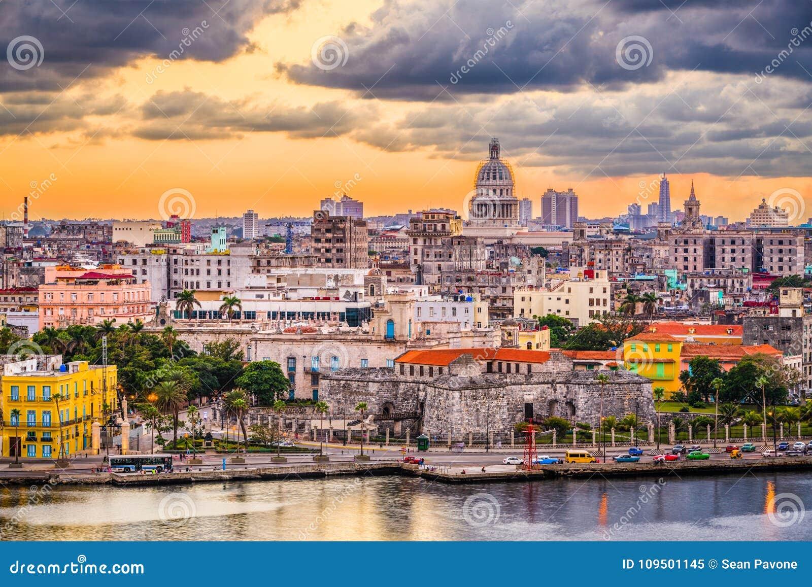 Horizon du centre de La Havane, Cuba