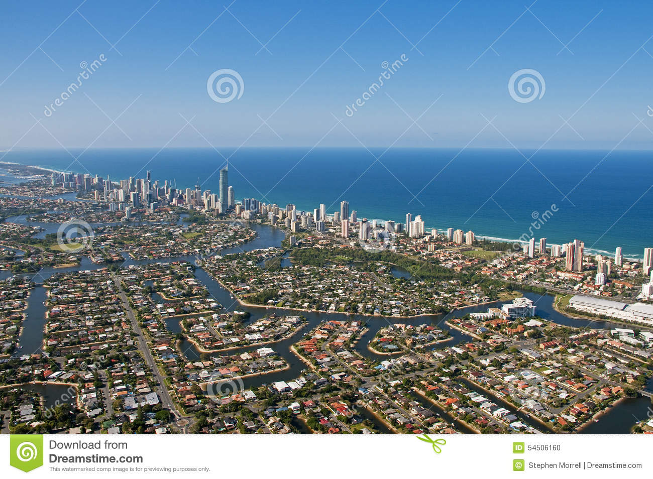 Horizon du sud-est 2 de la Gold Coast Queensland