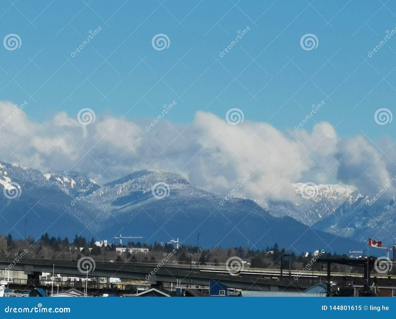 Horizon très bon de Vancouver