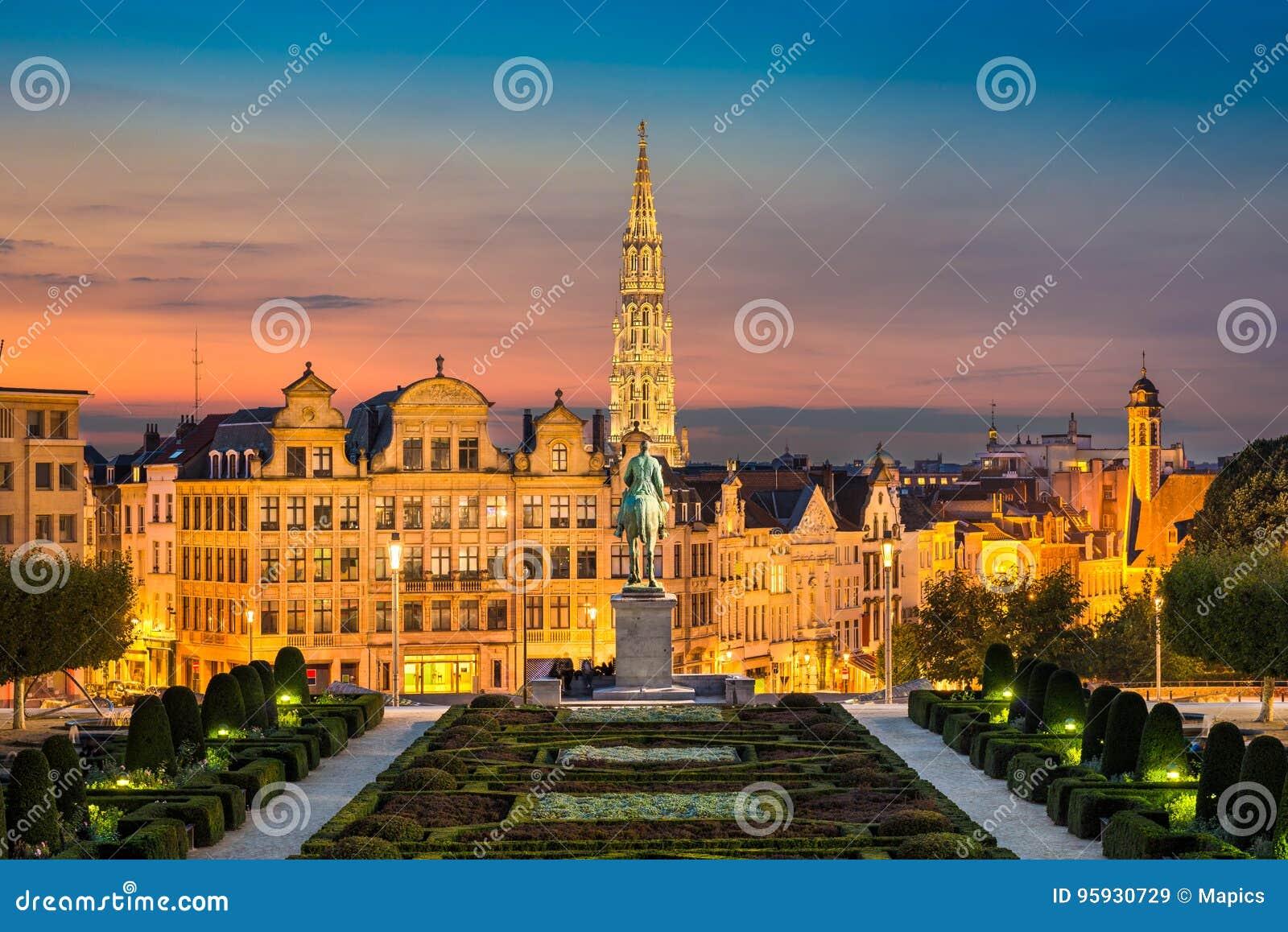 Horizon van Brussel, België