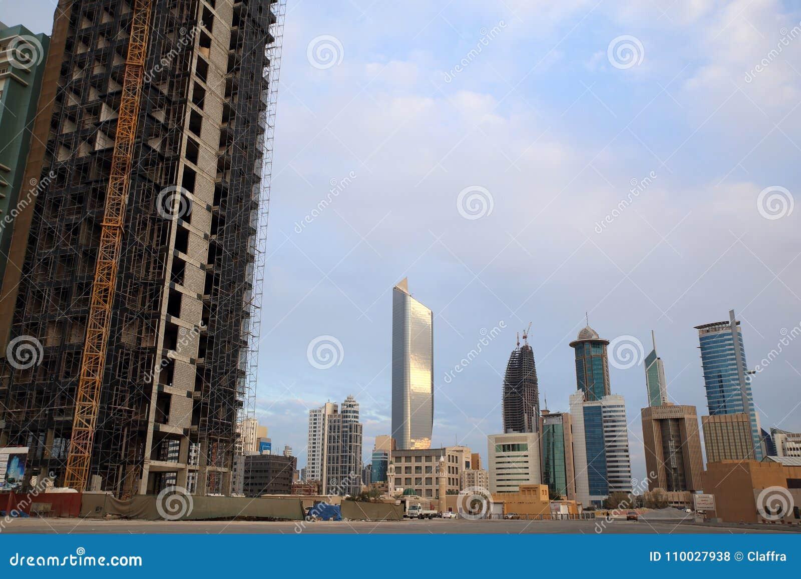 Horizon van de Stad van Koeweit