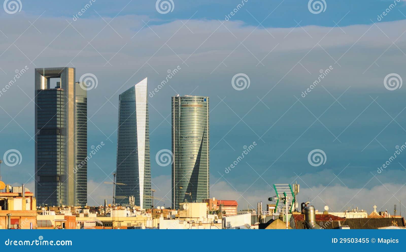 Horizon van Madrid, Spanje