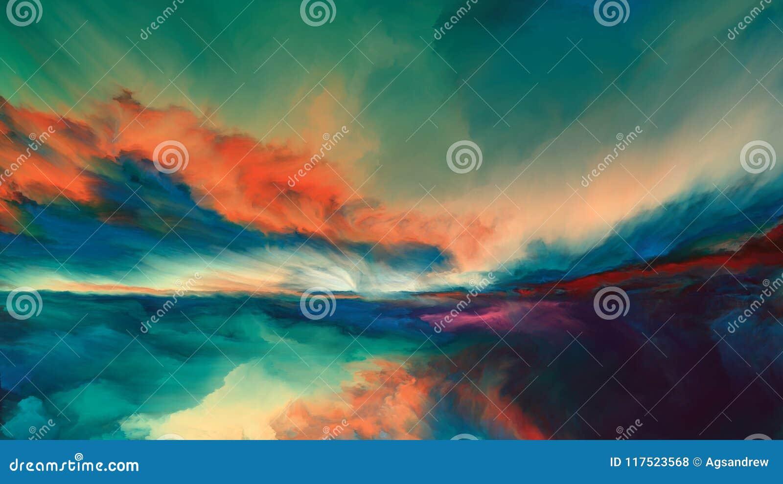 Horizont-Farbe