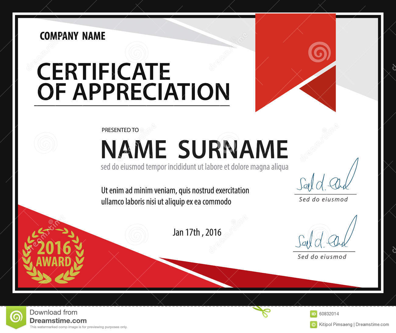 Excellence award certificate template free - visualbrains.info