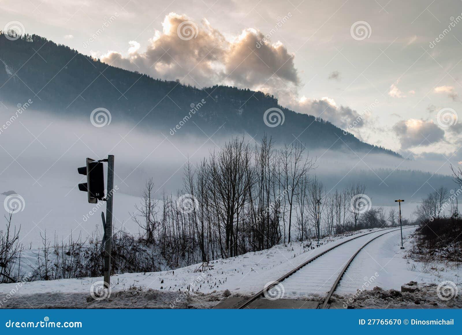 Horizontal de l hiver