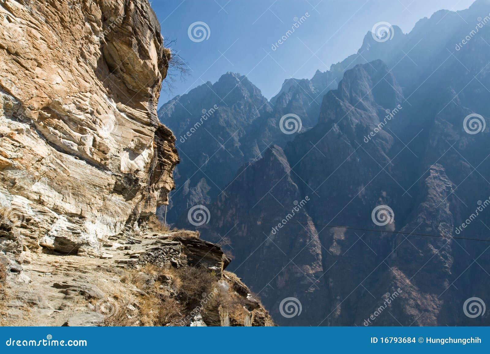 Horizontal de montagne de la Chine