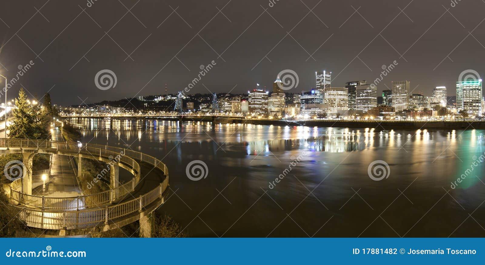 Horizontal de Portland, Orégon, Etats-Unis.