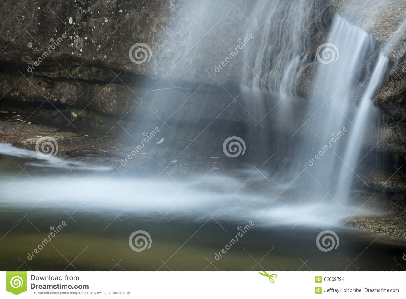Horizontal Falls And Plunge Pool Of Diana\'s Baths, New Hampshire ...