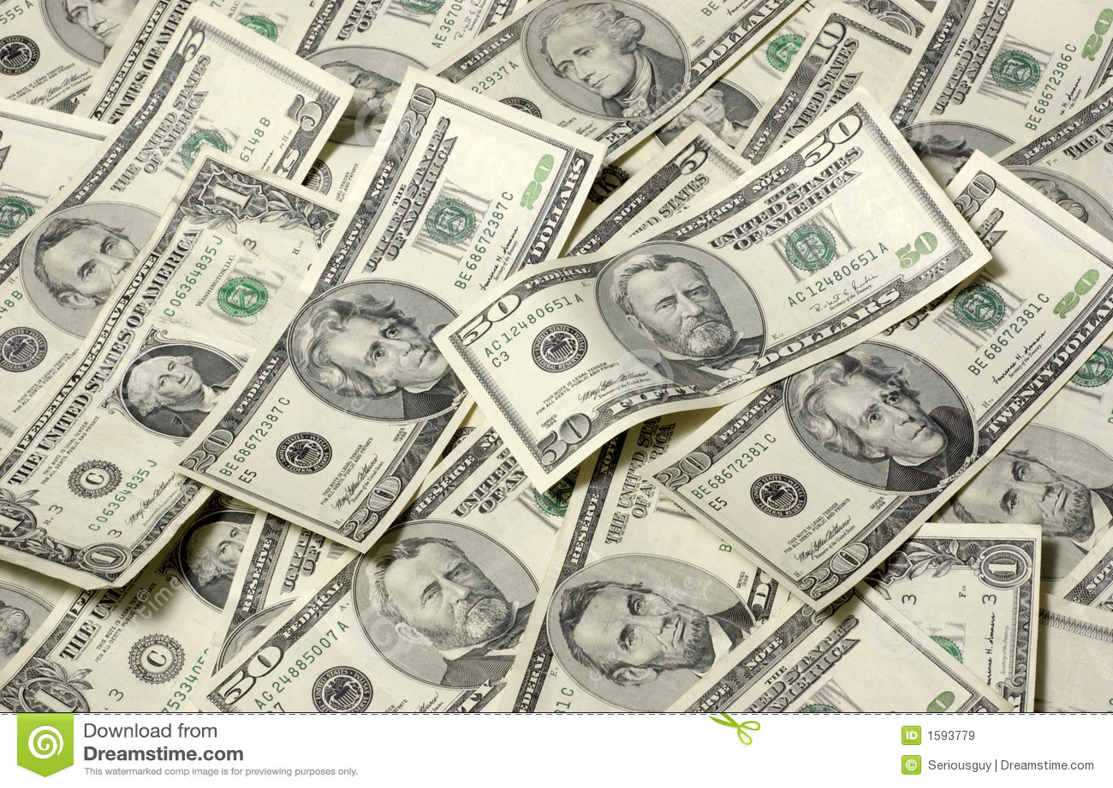 Money backround