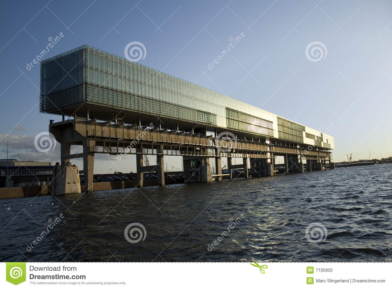 Horizontal office building stock photo image 7105950 for Horizontal house plans
