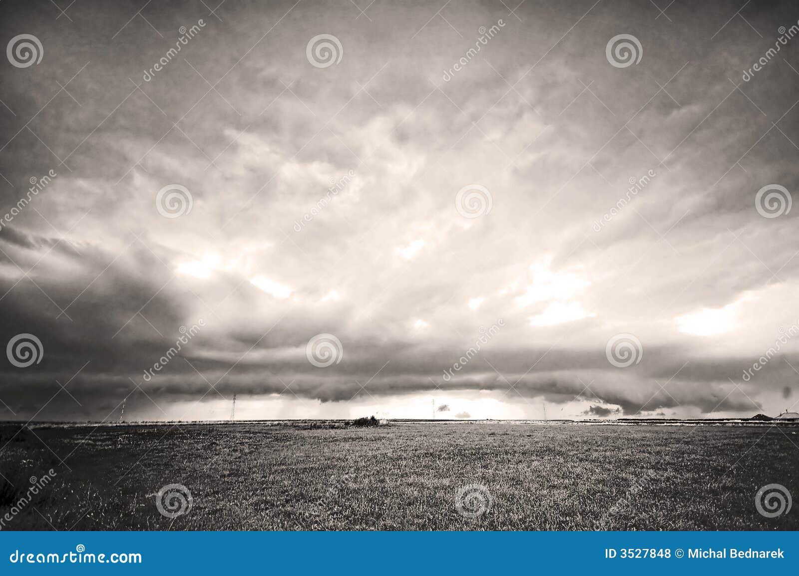 Horizontal orageux