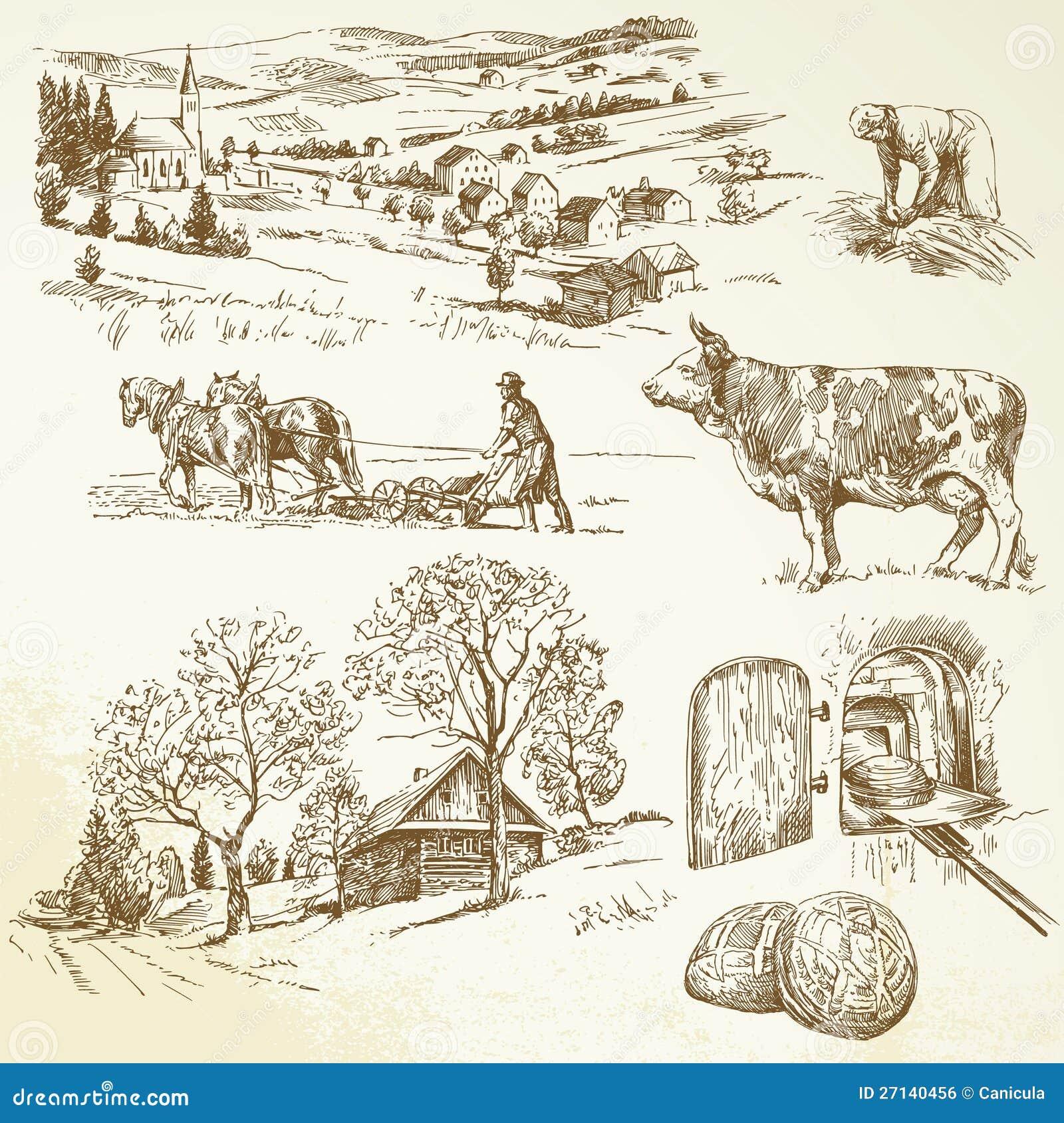 Horizontal rural, agriculture