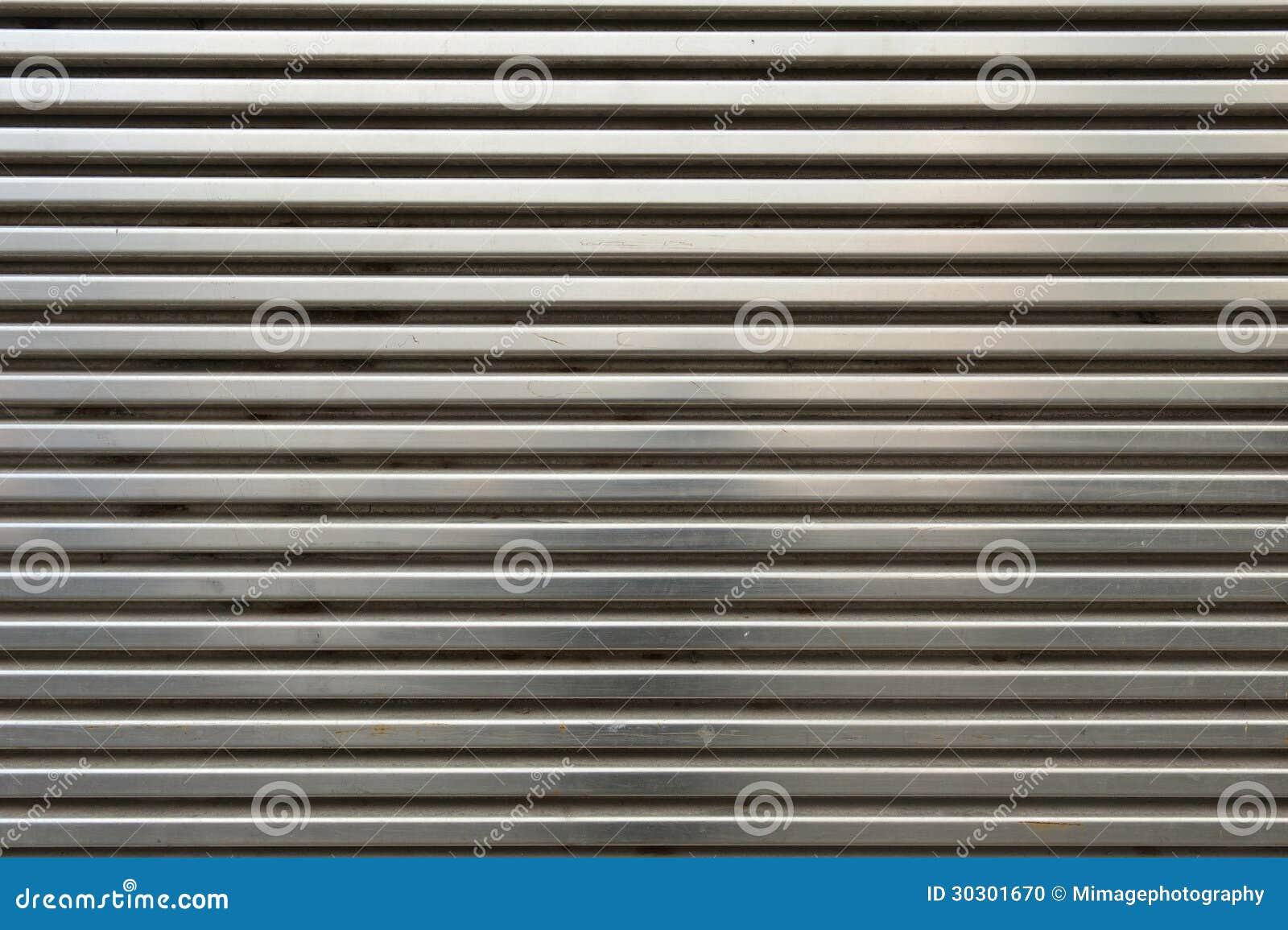 Shiny Metal Grill Wall Stock Photography Cartoondealer
