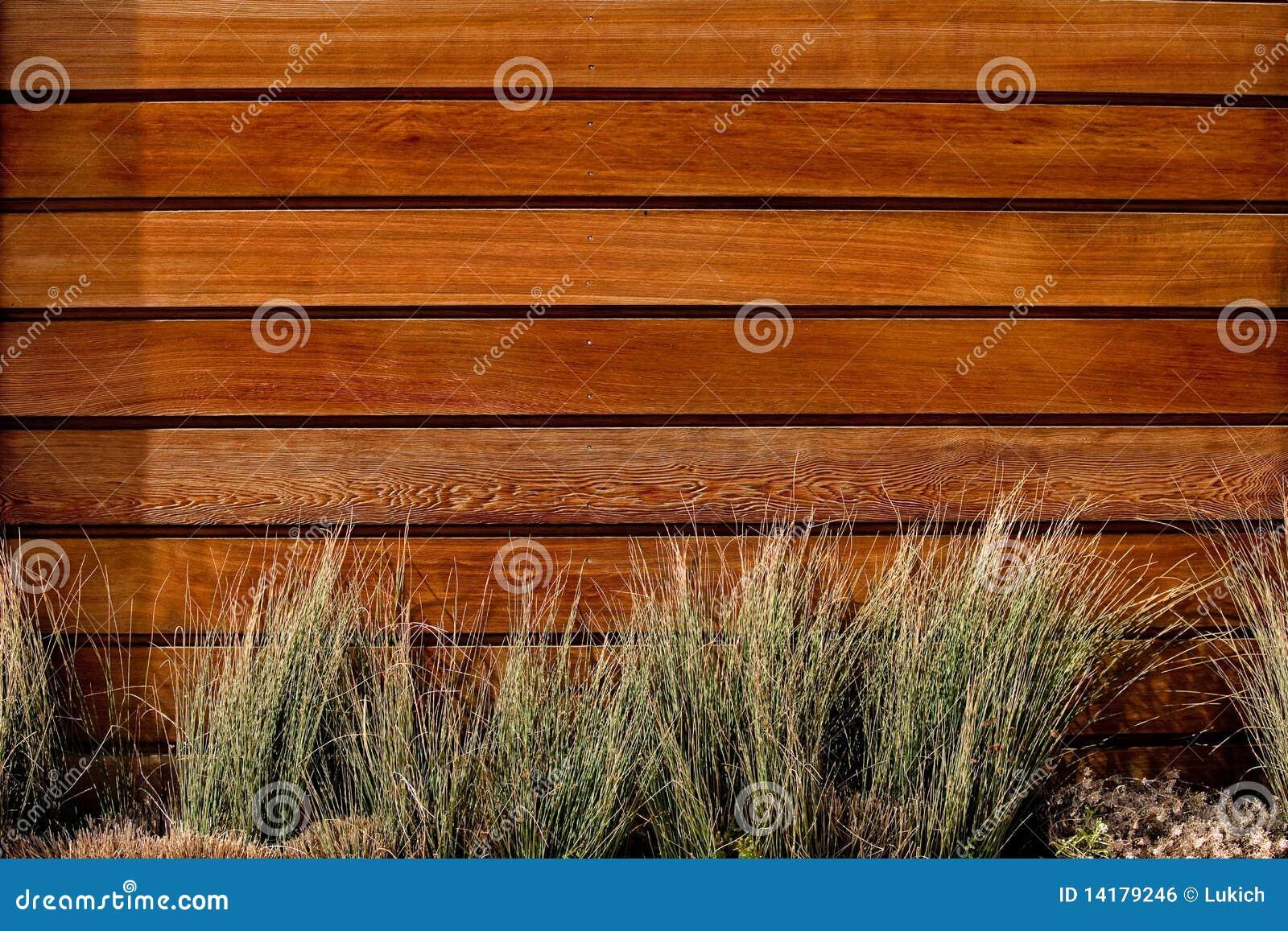 Horizontal Slat Wood Fence Stock Photo Image Of Boards