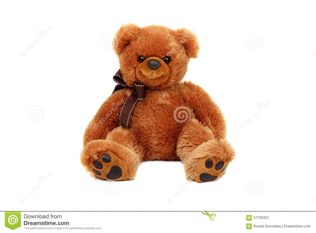 Download Brown Teddy Bear Doll Isolated Stuffed Fluffy Plush Sitting Soft Fur Cute Object Cuddly Little On White Background Small Gift Gold Stock Image - Image of nobody, playful: 57756331