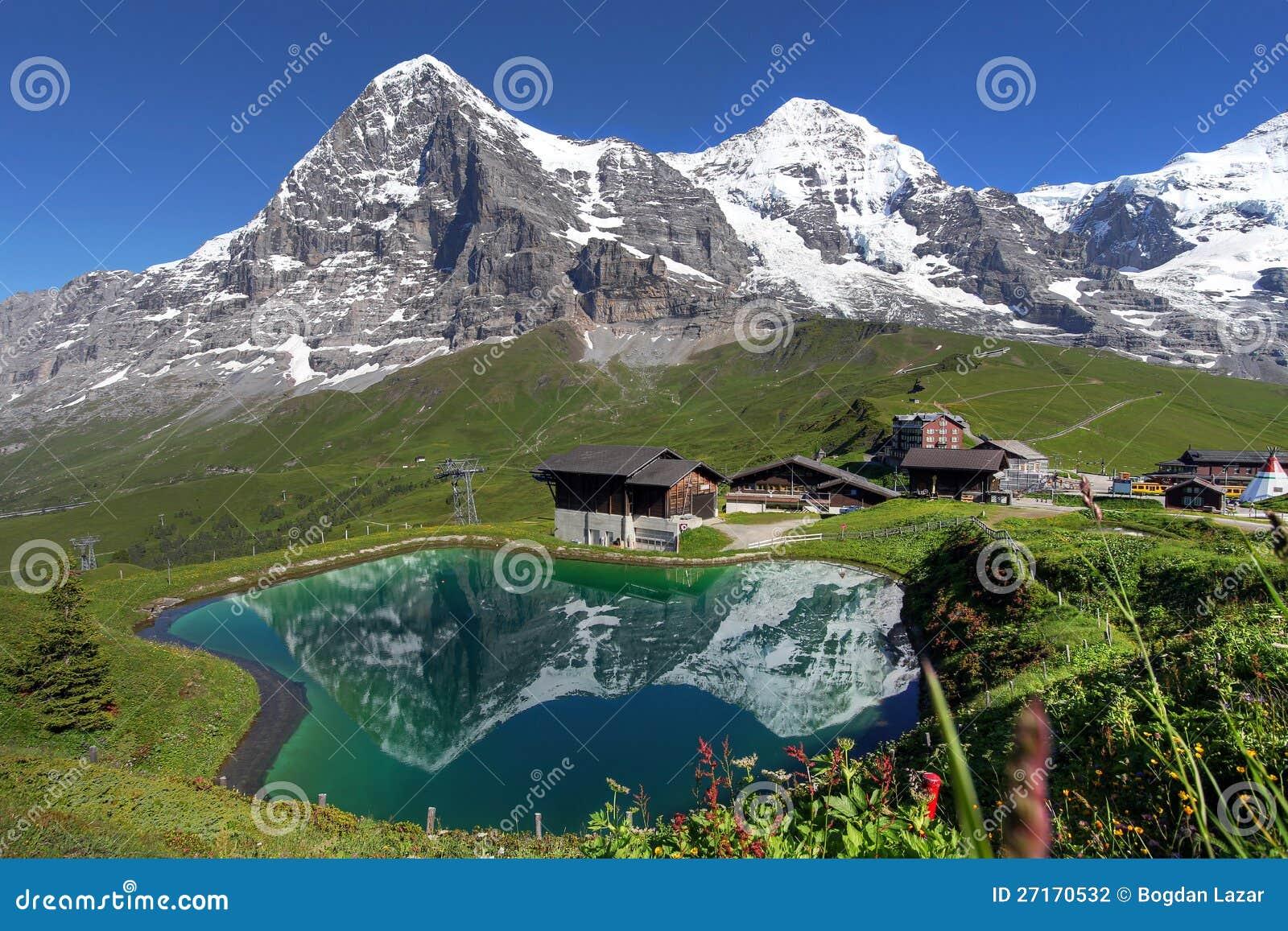 Horizontal suisse d Alpes