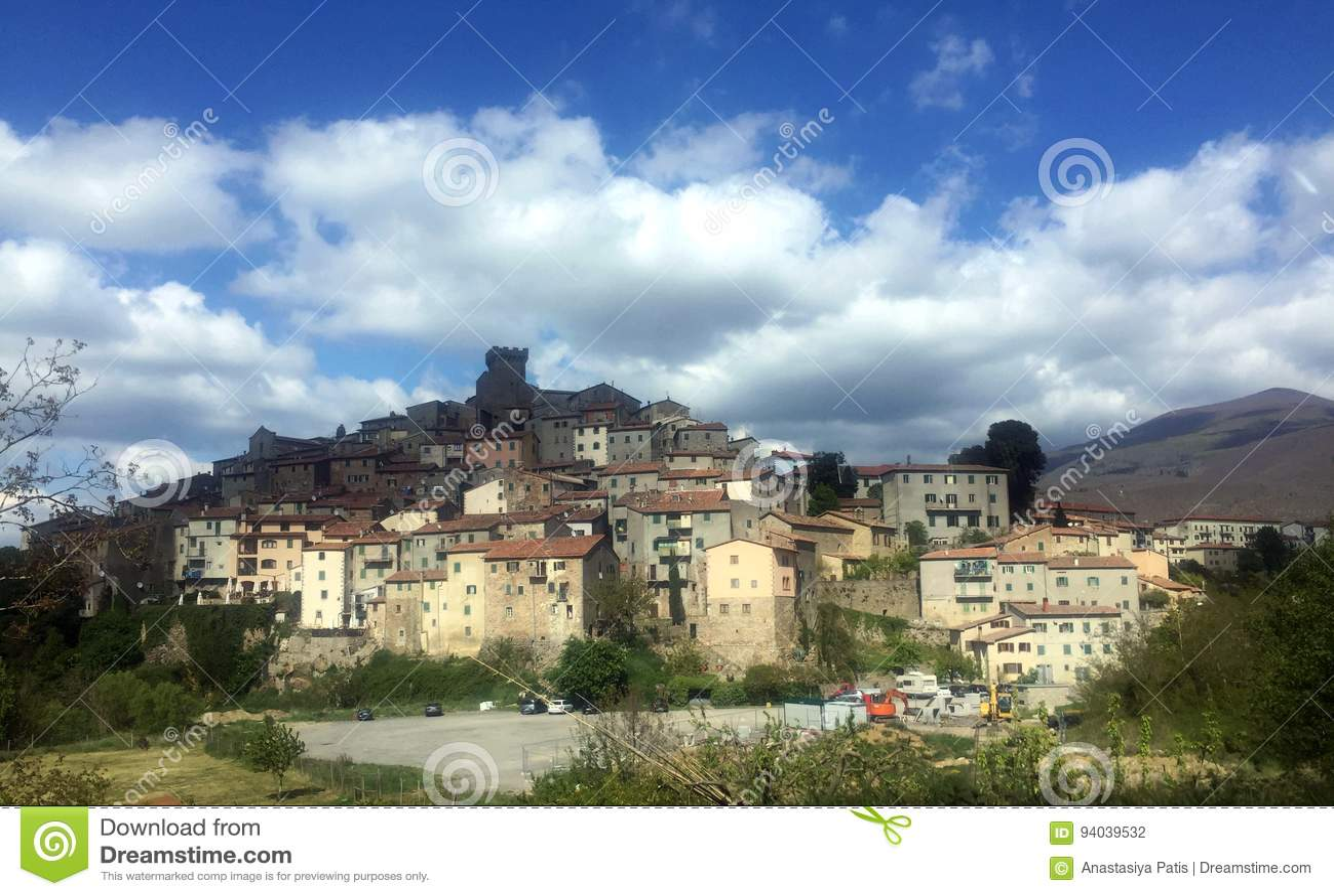 Horizontal, Toscane Val d Orcia