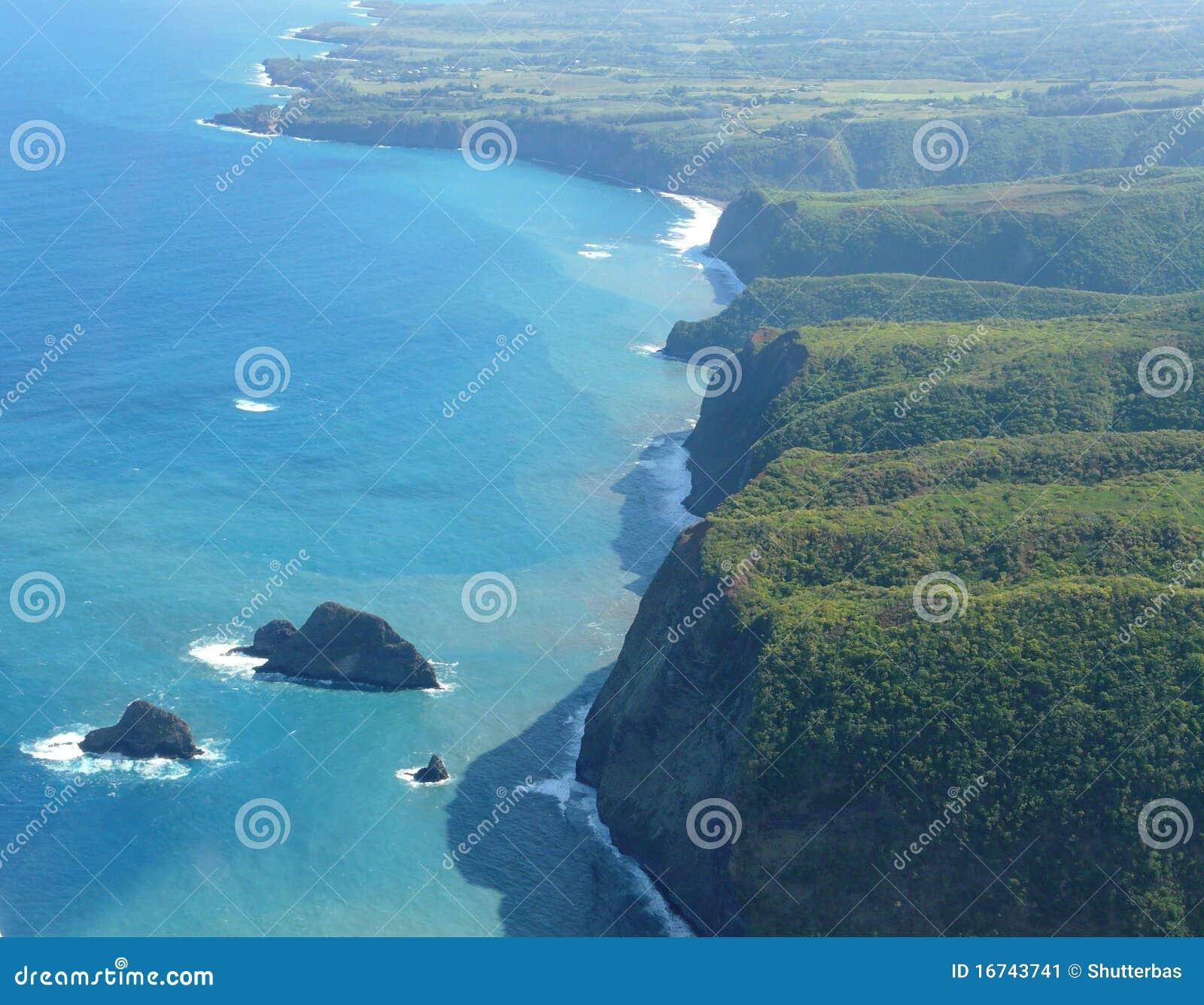 Horizontal volcanique