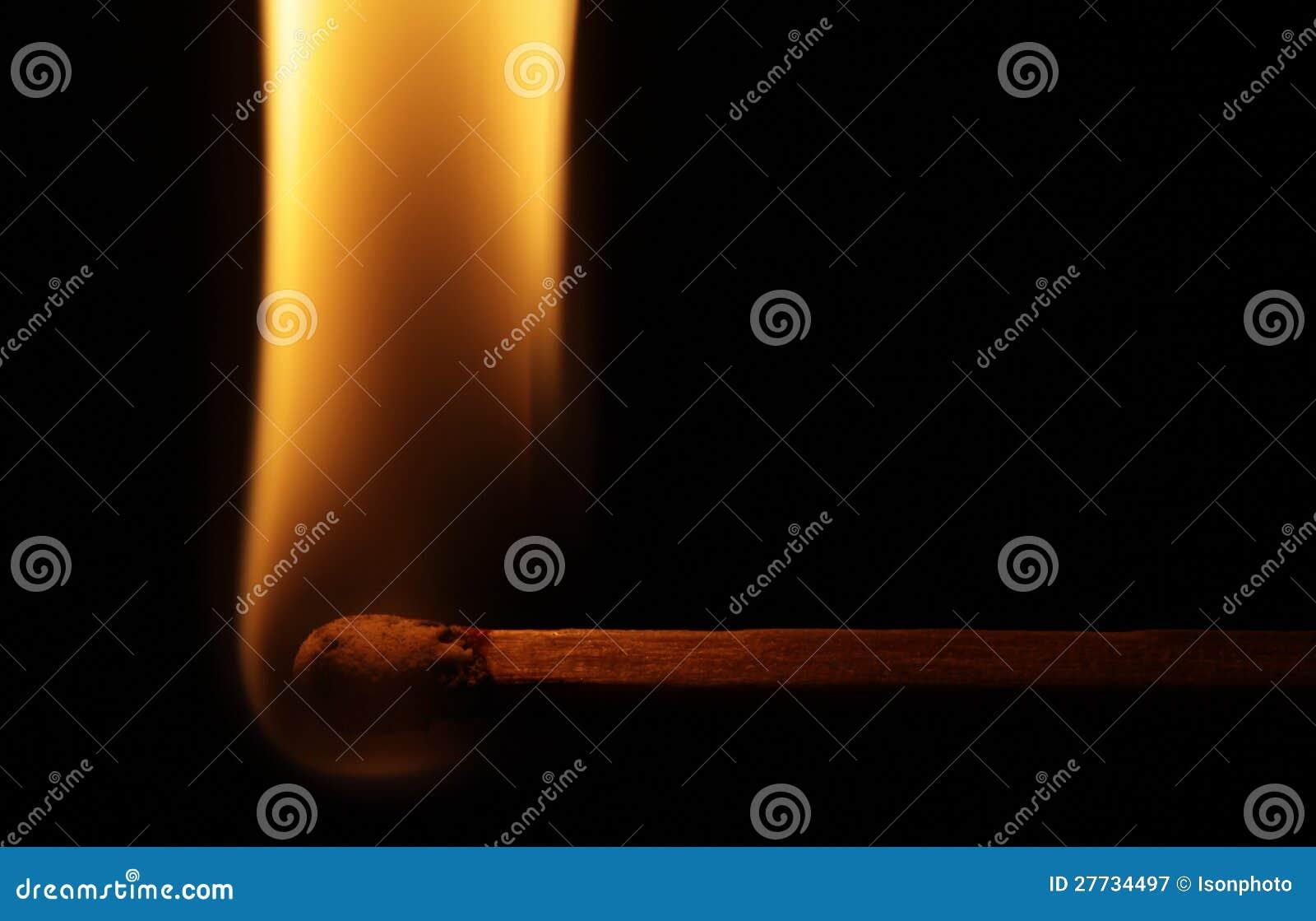 Horizontale Abgleichung mit Flamme