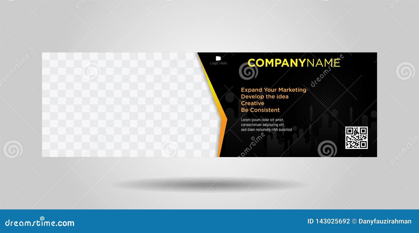 Horizontale bedrijfsbanners eenvoudige moderne ontwerp-06