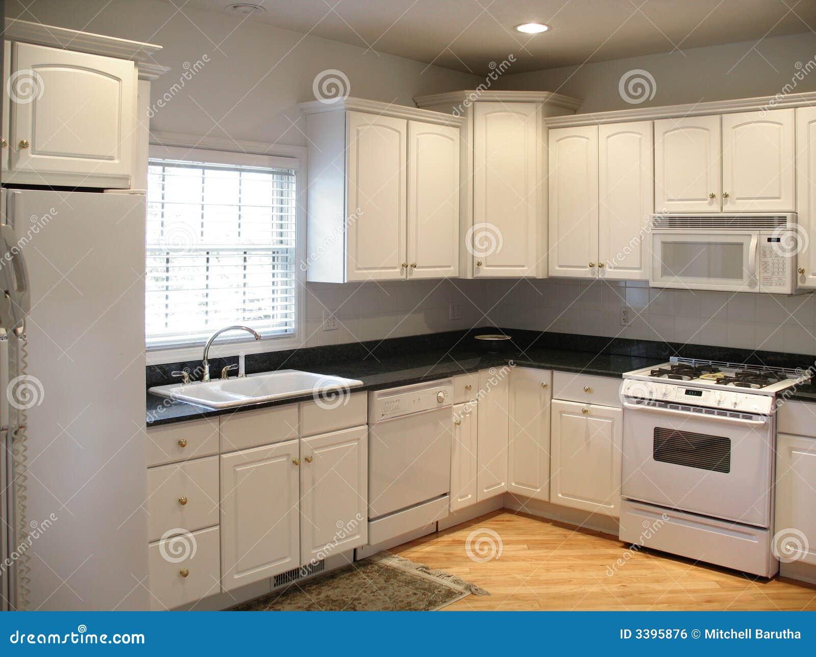 Horizontale de keuken van Upscale