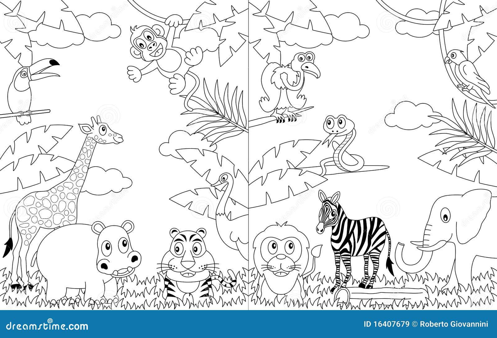 Horizontaux africains de coloration [2]