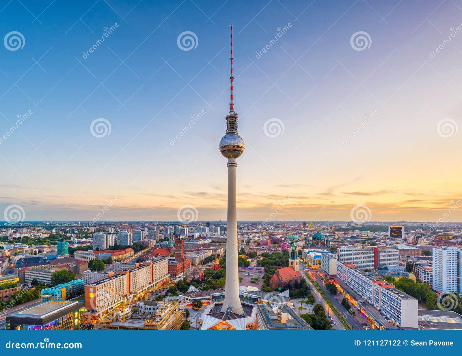 Horizonte de Berlín, Alemania