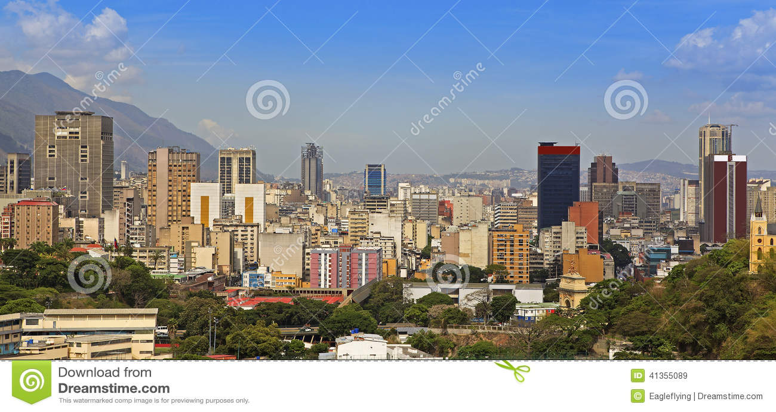 Horizonte de Caracas venezuela