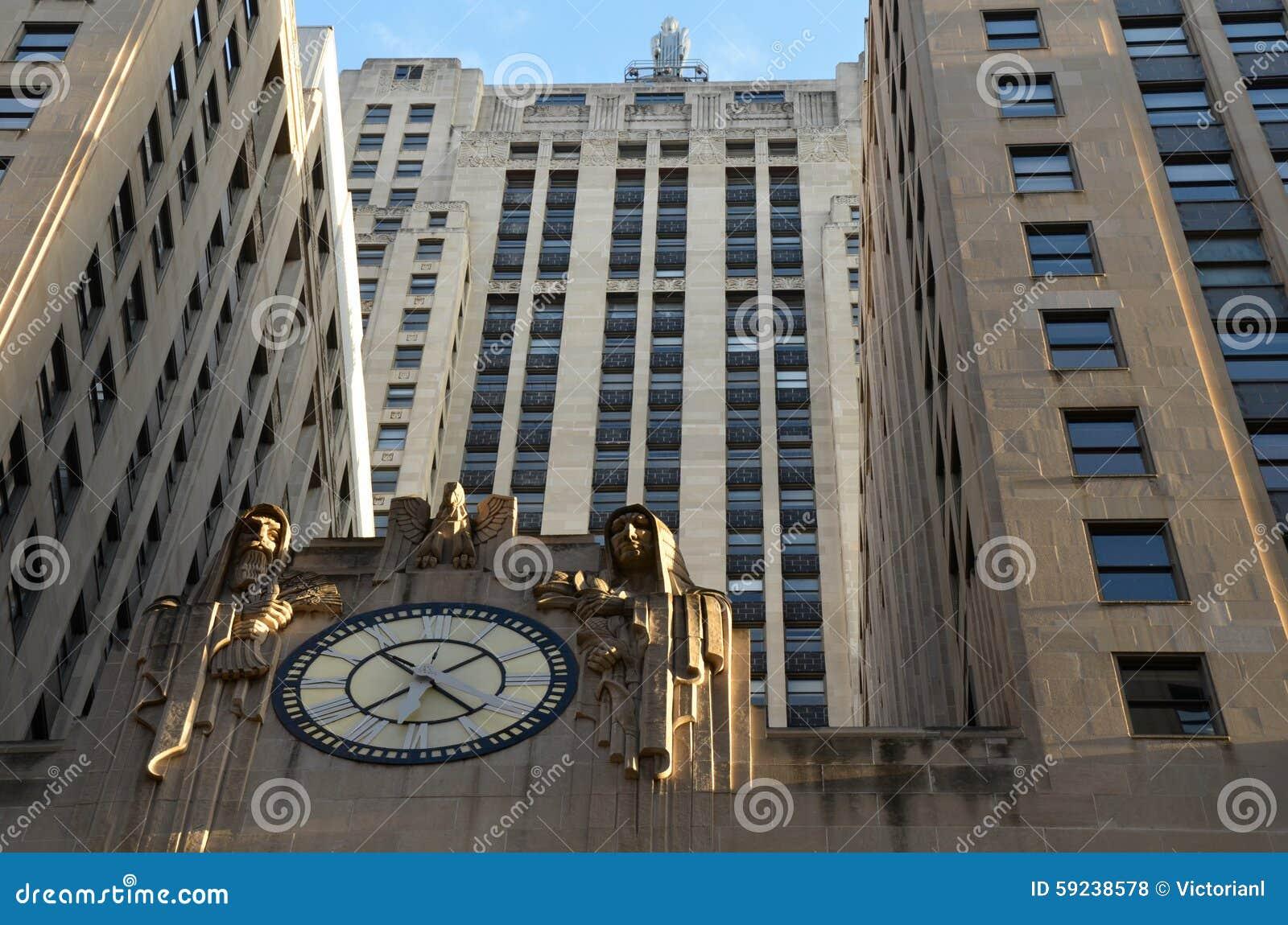 Download Horizonte De Chicago, Los E.E.U.U. Foto de archivo editorial - Imagen de edificios, diseño: 59238578