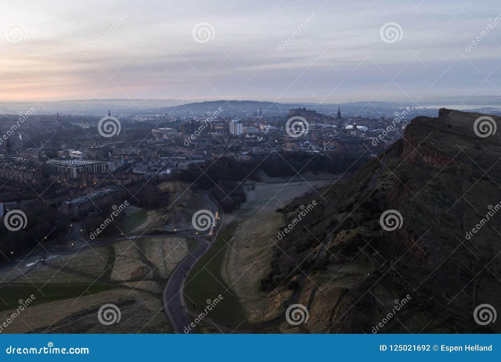 Horizonte de Edimburgo y riscos de Salisbury