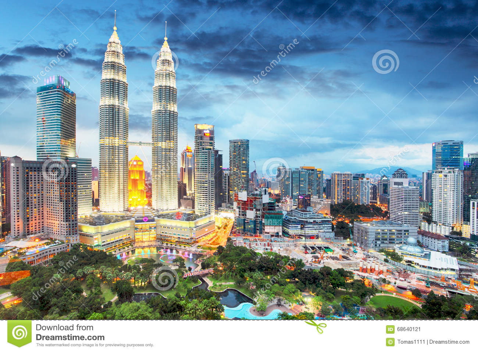 Horizonte de Kuala Lumpur, Malasia
