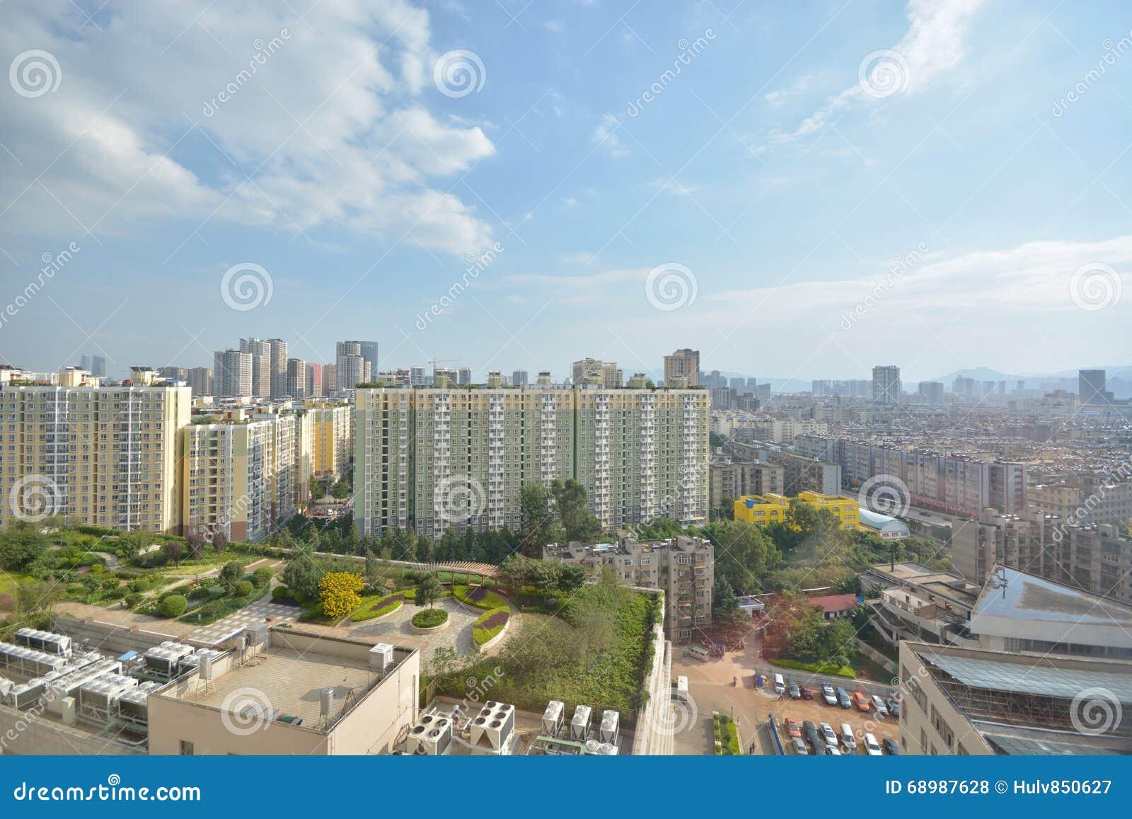 Horizonte de Kunming