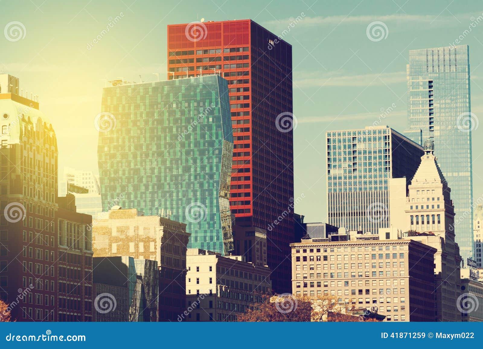Horizonte de la ciudad
