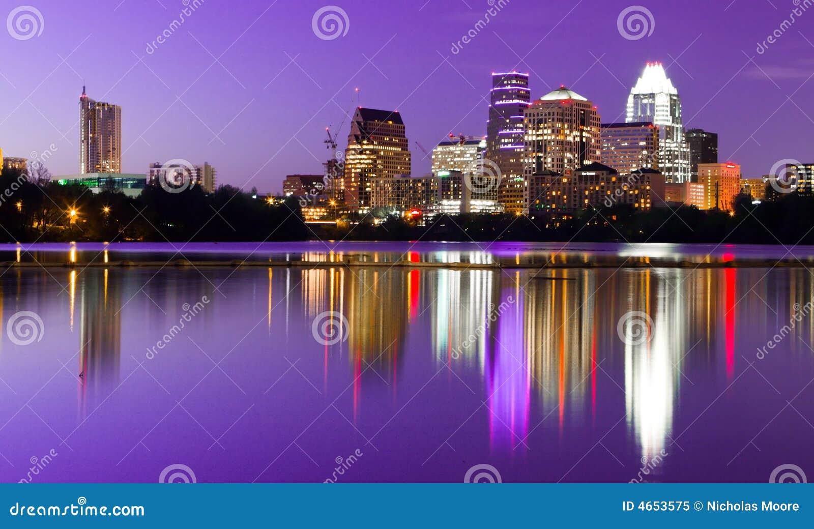 Horizonte de la ciudad - Austin, TX