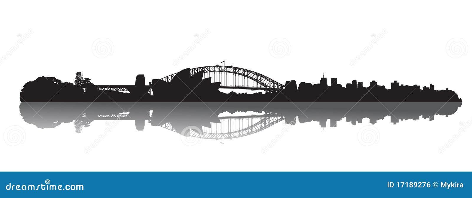 Horizonte de Sydney: Ópera y puerto