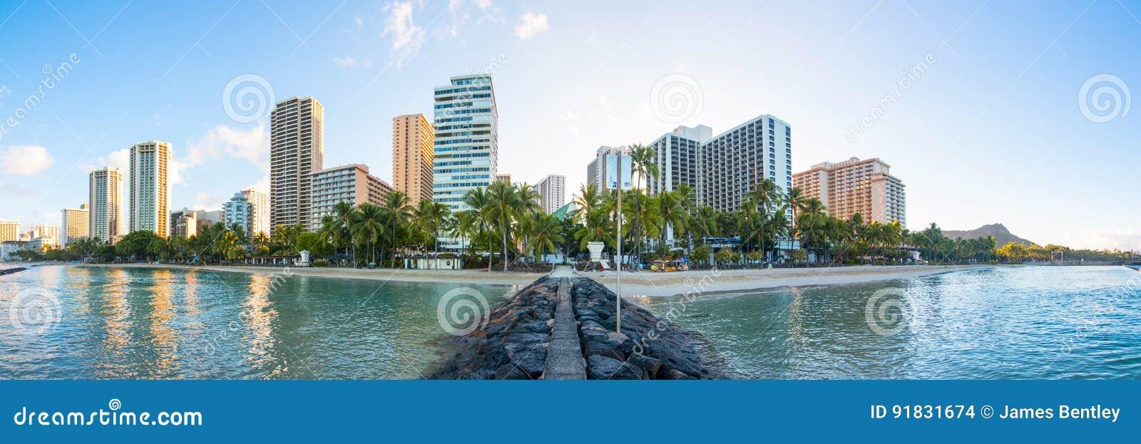Horizonte de Waikiki