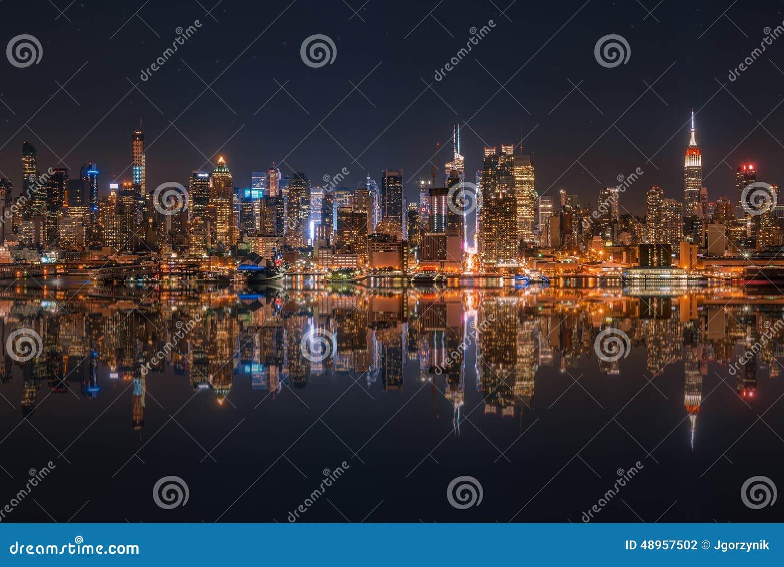 Horizonte del Lower Manhattan