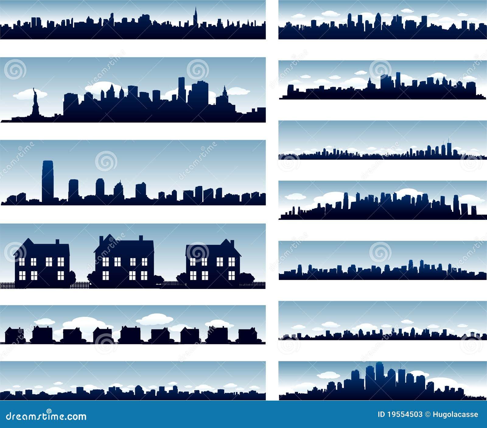 Horizontes de la ciudad