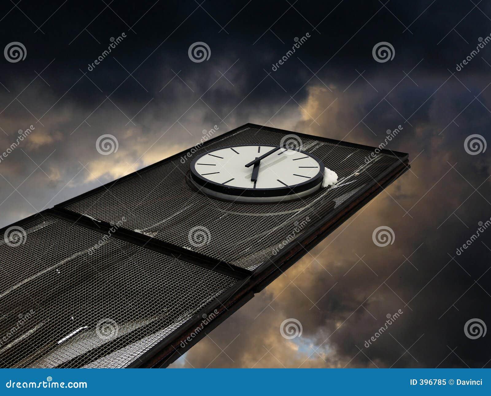 Horloge abstraite
