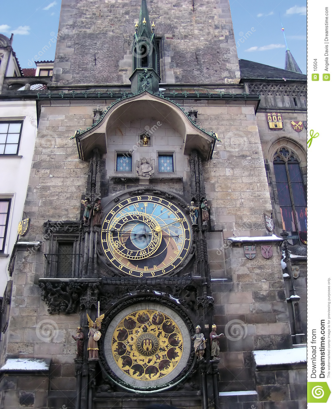 Horloge astronomique, Prague (République de Chech)