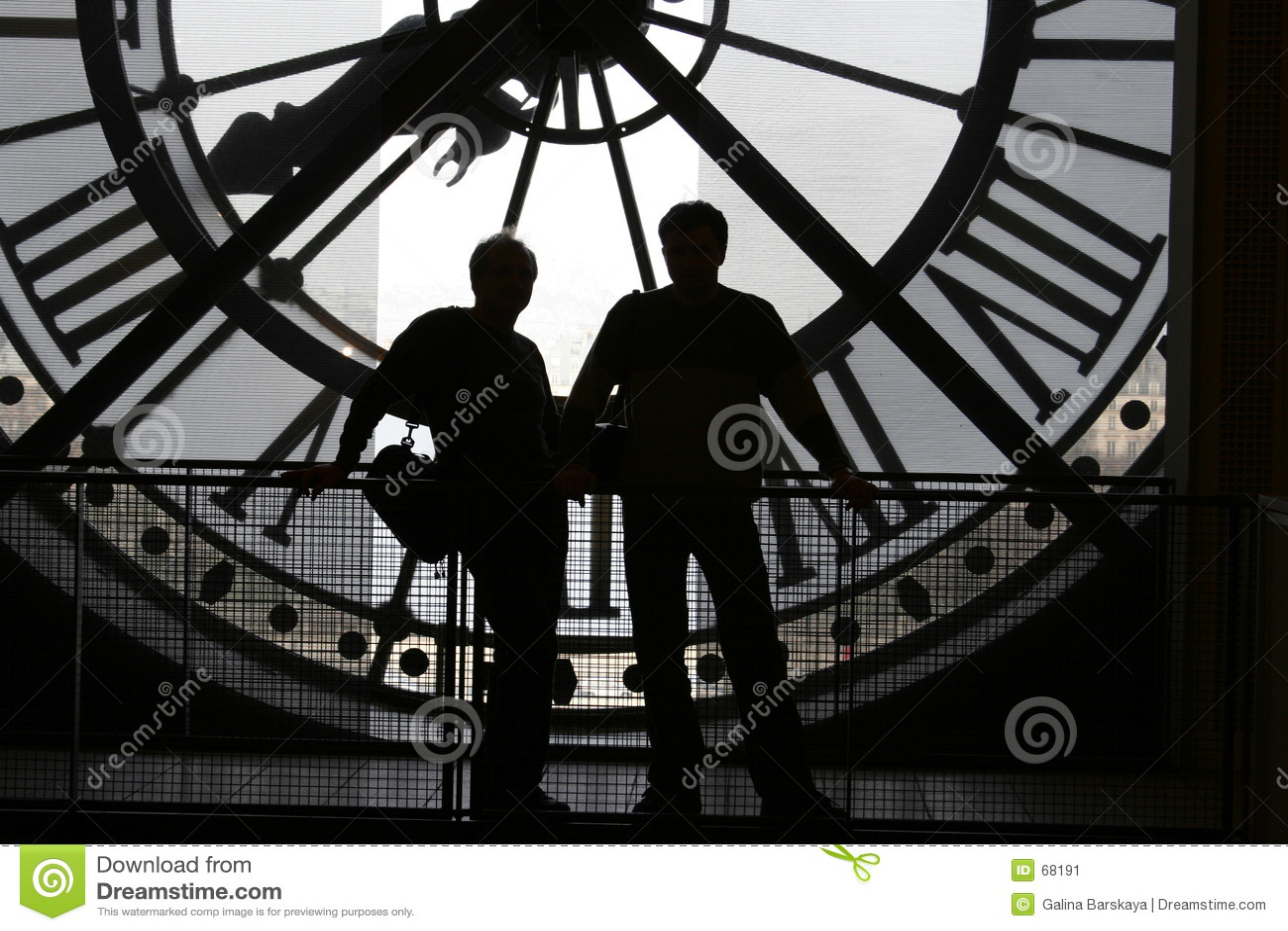 Horloge au musée d Orsay