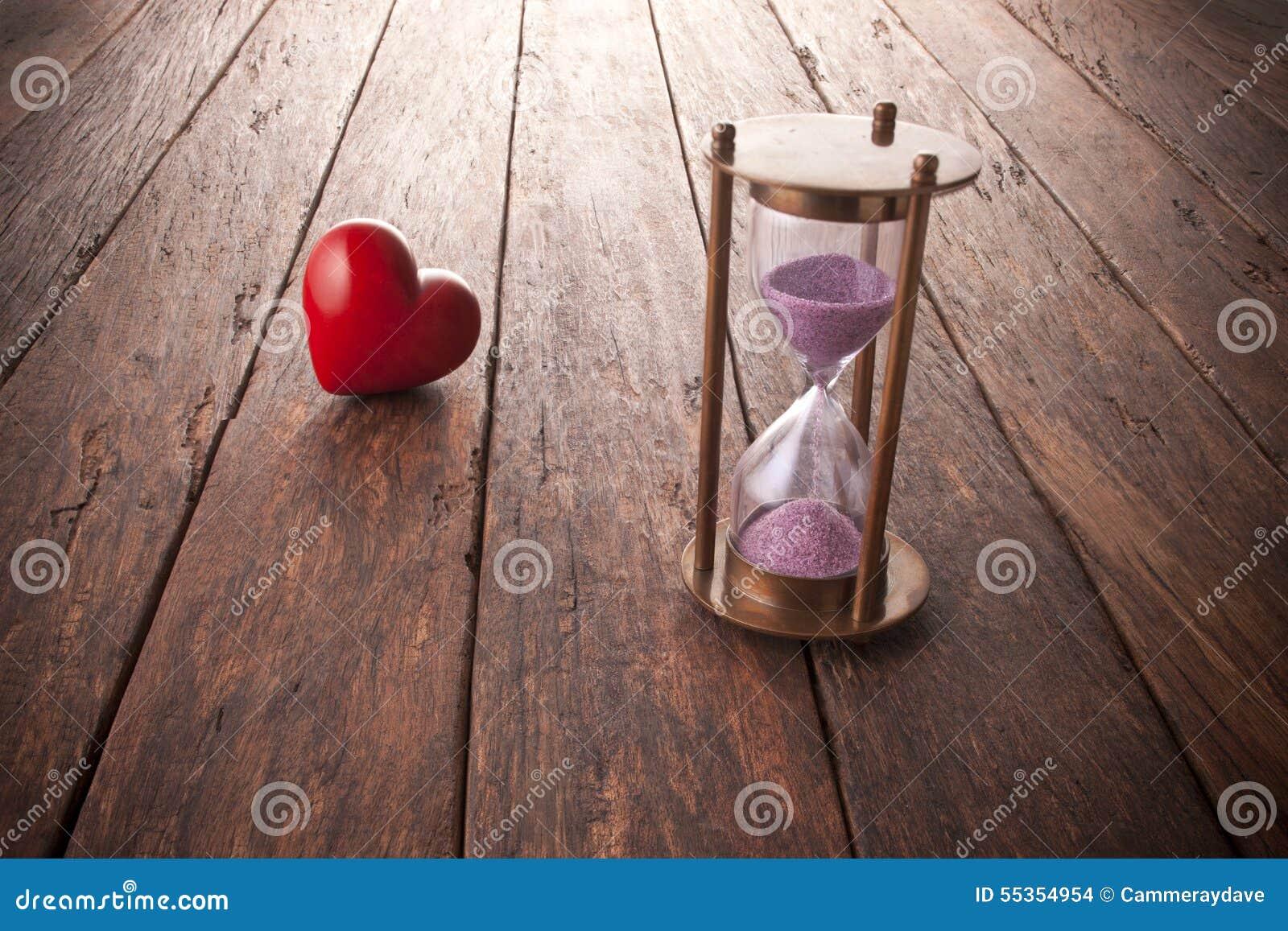 Horloge biologique d amour de temps