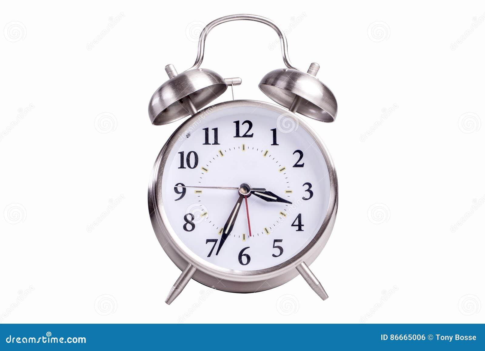 Horloge d alarme analogique