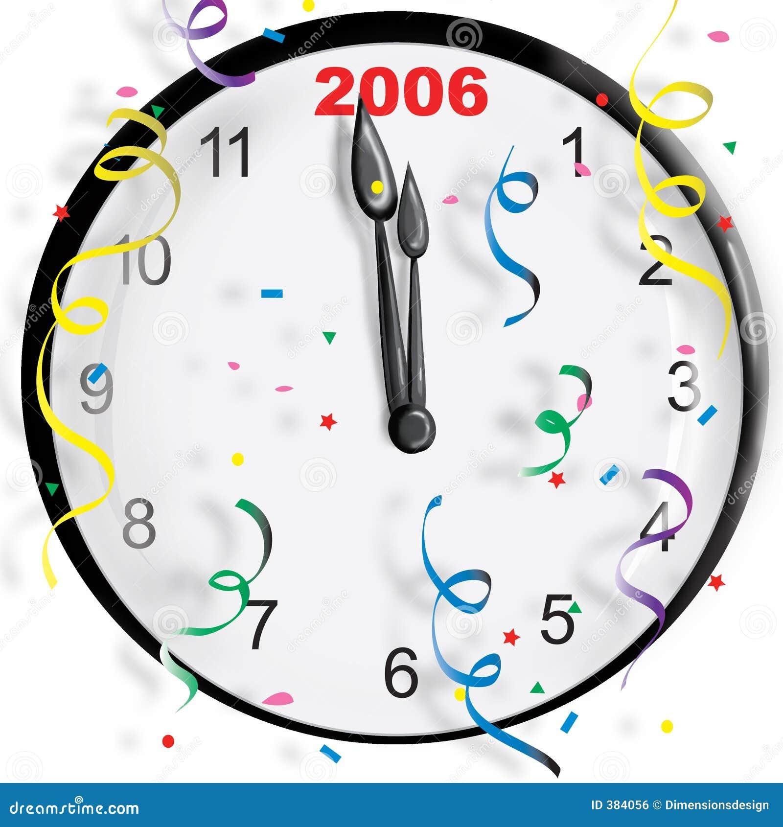 Horloge d an neuf