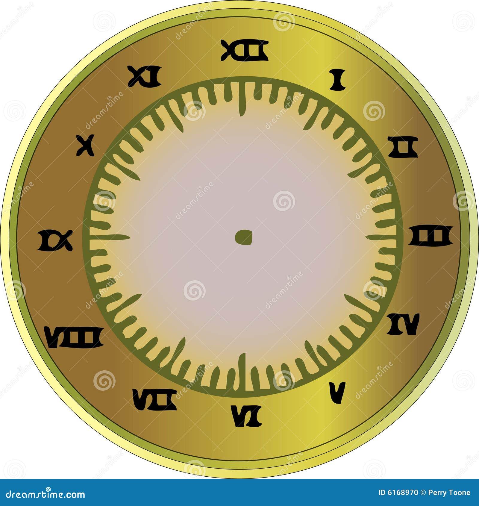 horloge de chiffre romain photo stock image 6168970. Black Bedroom Furniture Sets. Home Design Ideas
