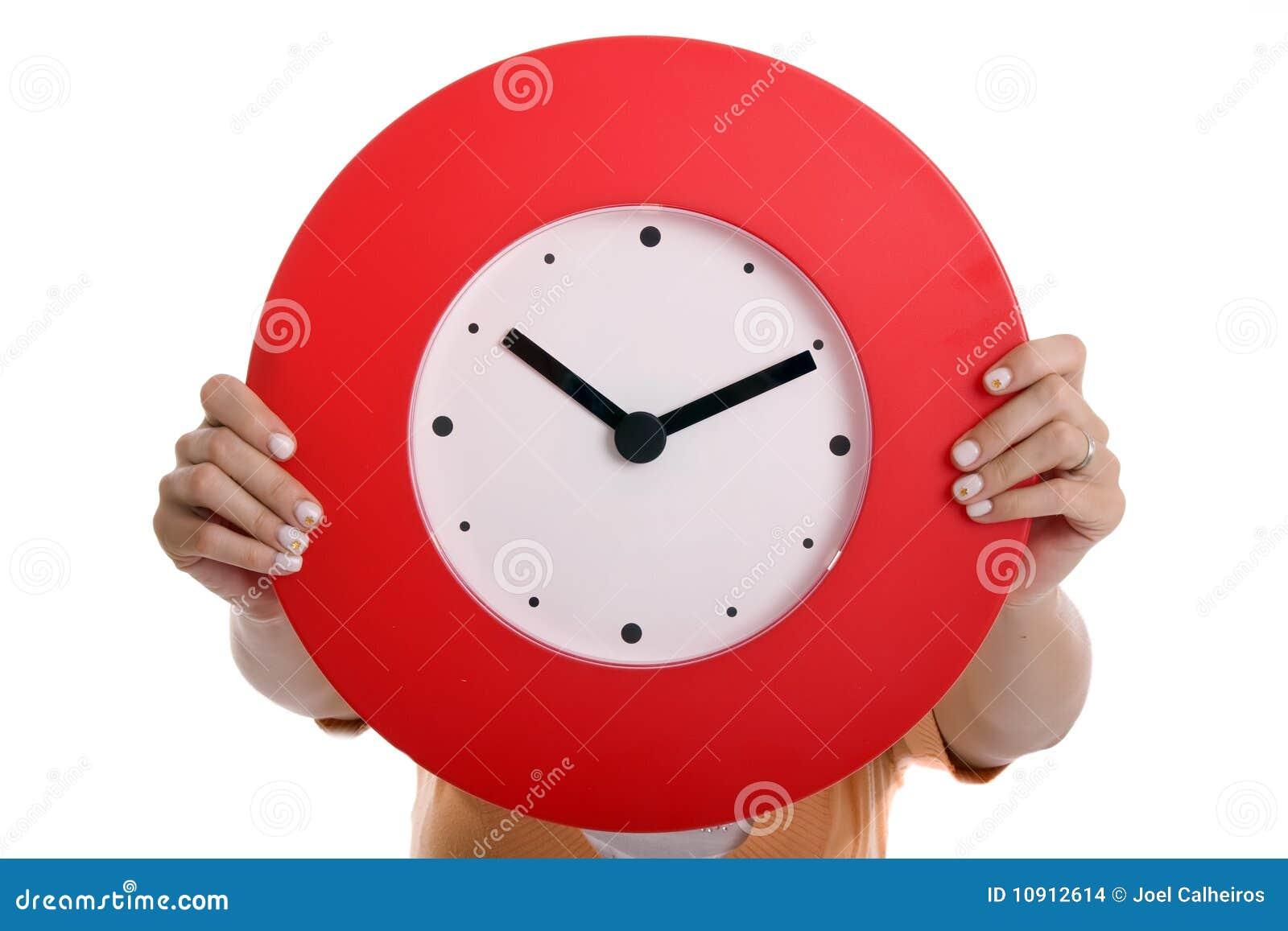 Horloge de fixation