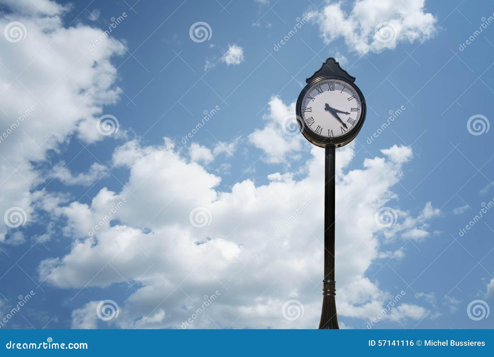 Horloge de rue
